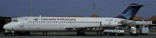 Die DC-9 als Arbeitspferd der Kurzstrecke/Courtesy: Garuda Indonesia