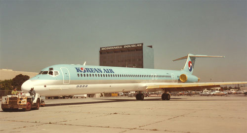 MD-80 der Korean Air/Courtesy: McDonnell Douglas
