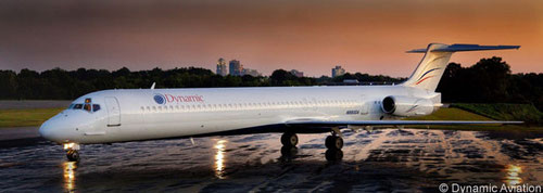 Die erste MD-88/Courtesy: Dynamic Aviation