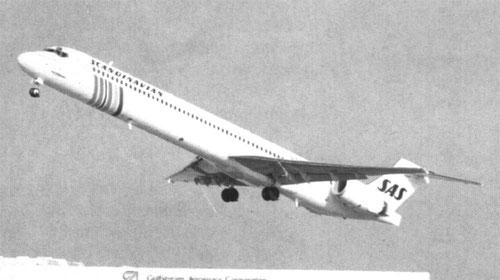 Die erste MD-90 in Long Beach/Courtesy: McDonnell Douglas