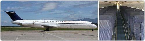 MD-83/Courtesy: Flying America