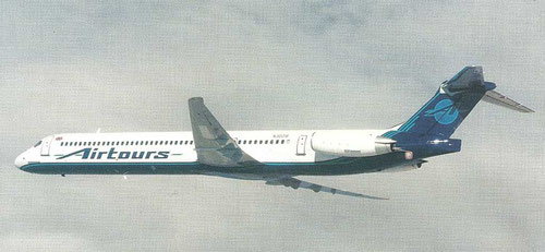 Airtours MD-83/Courtesy: McDonnell Douglas