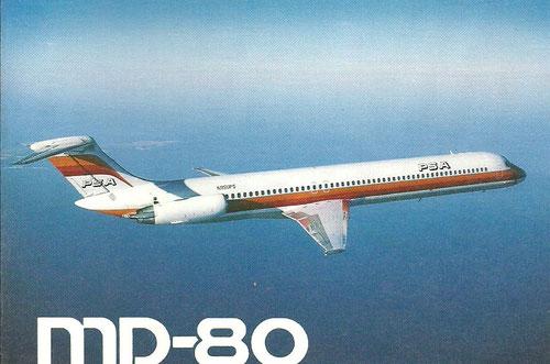 MD-80 der PSA/Courtesy: McDonnell Douglas