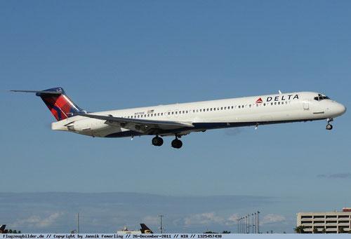 Weiterhin stark vertreten: die MD-88 bei Delta Air Lines/Courtesy: Jannik Femerling