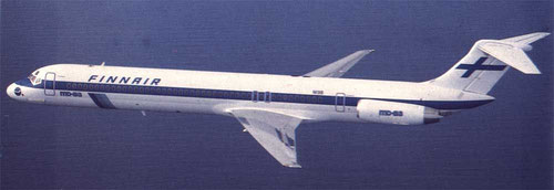 Finnair MD-83/Courtesy: Finnair