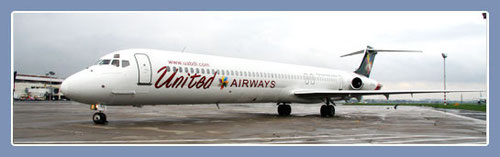 United Airways MD-83/Courtesy: United Airways