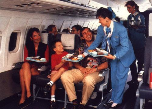 Werbefoto mit einer MD-83-Kabine der Aero Lloyd/Courtesy: Aero Lloyd