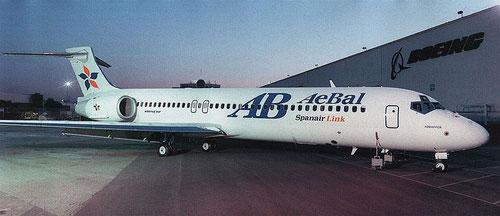 AeBal wurde der zweite europäische Nutzer der Boeing 717/Courtesy: Boeing