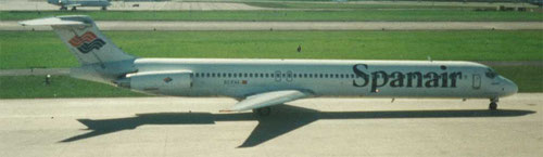 Spanair MD-83/Privatsammlung