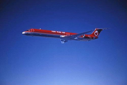MD-82 der new York Air/Courtesy: McDonnell Douglas