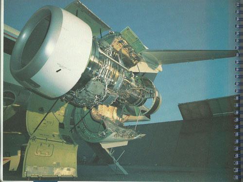 IAE V2500-Triebwerk einer MD-90 der Delta Air Lines/Courtesy: McDonnell Douglas