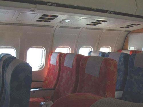 Die finale Version der Original-MD-80-Kabine/Courtesy: JAS?