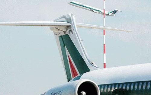 Zwei MD-82 der Alitalia/Courtesy: Alitalia