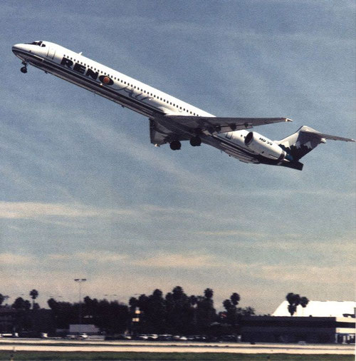 MD-90 der Reno Air/Courtesy: McDonnell Douglas