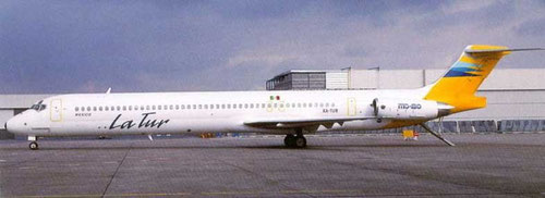 La Tur MD-83/Postkarte