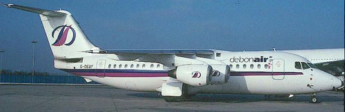 Optisch sehr ansprechend/Courtesy: Debonair Airways?