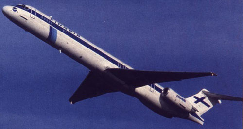 MD-83 der Finnair/Courtesy: Finnair