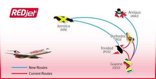 Streckennetzinformationen/November 2011/Courtesy: REDjet