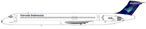 Garuda gaben der 737-300/-400 den Vorzug/Courtesy: md80design