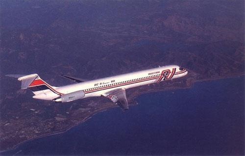 Mit der MD-81 führten Austral einst ein hochmodernes Modell ein/Courtesy: Austral Lineas Aeréas