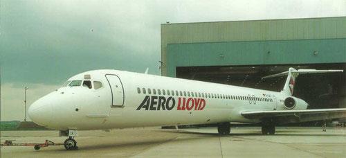 MD-83 von Aero Lloyd/Privatsammlung