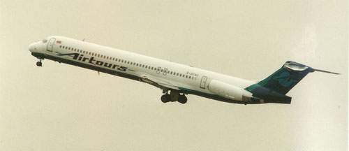 MD-83 der Airtours/Privatsammlung