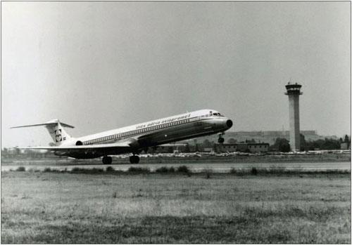 Adria Airways vermietete in den 1990ern vielfach ihre Flugzeuge/Courtesy: McDonnell Douglas