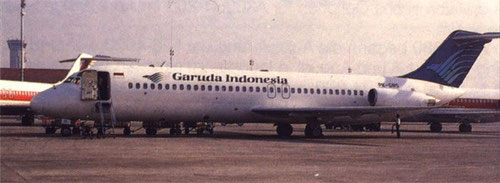 DC-9-32/Courtesy: Garuda Indonesia