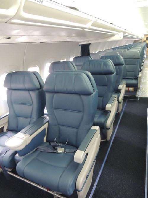 Kabine der ersten Delta Boeing 717/Courtesy: Delta Air Lines