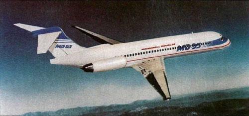 Frühe Form der MD-95/Courtesy: McDonnell Douglas