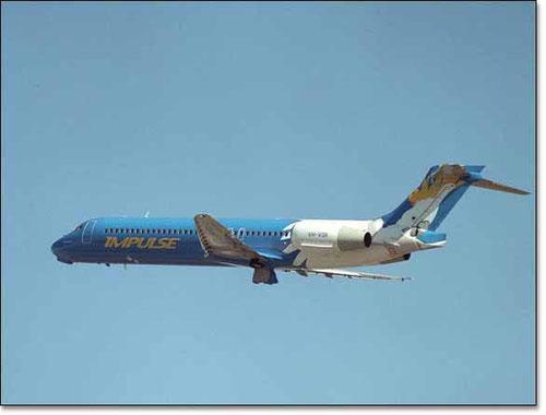 Impulse Airlines waren der australische Erstbetreiber der Boeing 717/Courtesy: Impulse Airlines