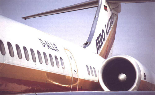 Die MD-83 D-ALLR/Courtesy: Aero Lloyd