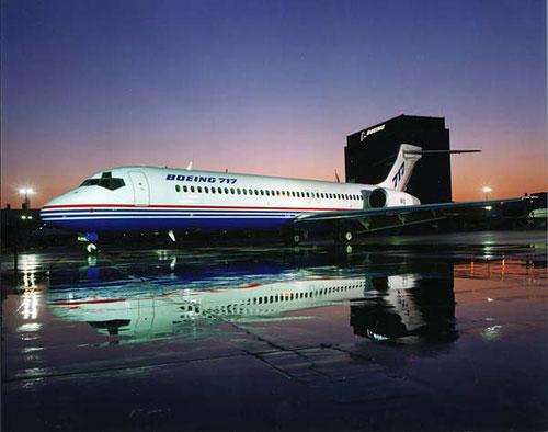 Prototyp der Boeing 717/Courtesy: Boeing