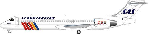 Die MD-95 im klassischen Farbkleid der SAS/Courtesy: MD-80.com