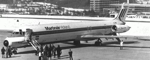 Martinair Holland MD-82/Courtesy: Martinair