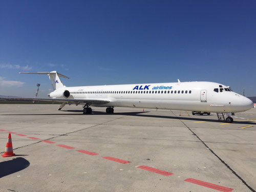 ALK Airlines MD-82 LZ-DEO/Courtesy: ALK Airlines