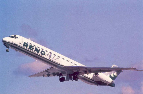 Reno Air MD-82/Courtesy: Reno Air