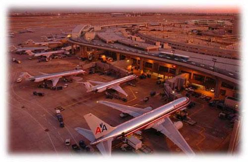 Drehkreuz von American Airlines in Dallas Fort Worth/Courtesy: American Airlines