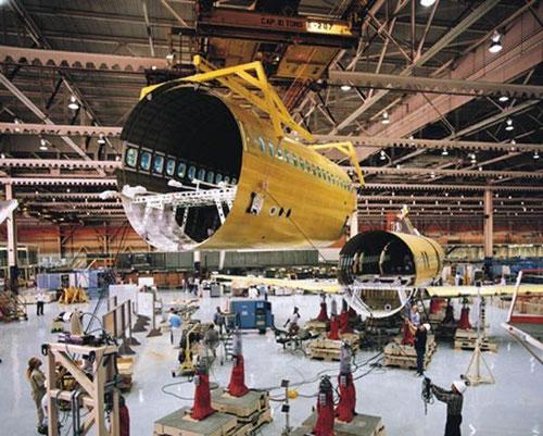 Qualitativ hervorragende Zellenstrukturen zeichnen die Boeing 717 aus/Courtesy: Boeing
