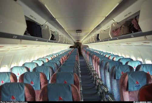 MD-88-Kabine von Onur Air mit 172 Sitzplätzen/Courtesy: Pekka Lehtinen