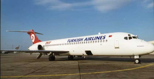 Douglas DC-9-32/Courtesy: Turkish Airlines