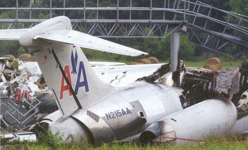 Das Leitwerk der havarierten MD-82/Courtesy: NTSB?