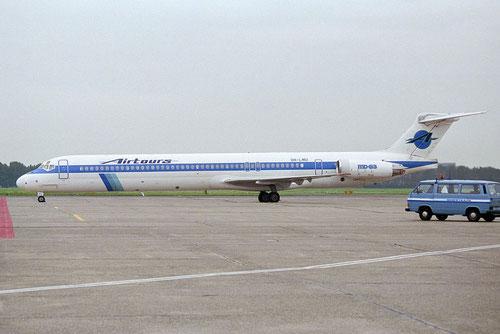 Airtours mietete beispielsweise saisonal diese MD-83 von Finnair/Courtesy: David van Maaren