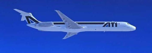 MD-82 der ATI/Courtesy: McDonnell Douglas