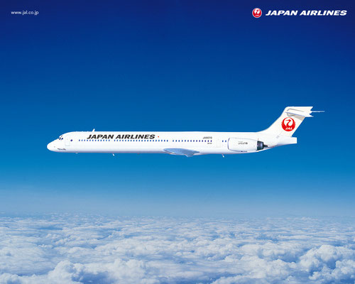 JAL MD-90/Courtesy: Japan Airlines