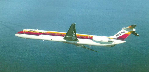 AirCal MD-82/Courtesy: McDonnell Douglas