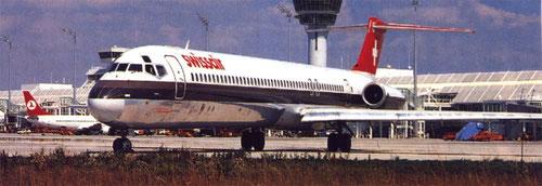 MD-81 der Swissair/Courtesy: Swissair