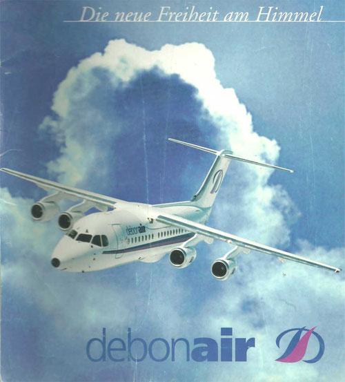 Debonair Airways BAe 146-200A/Courtesy: Debonair Airways