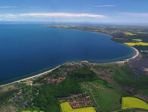 Luftaufnahme Hohwachter Bucht
