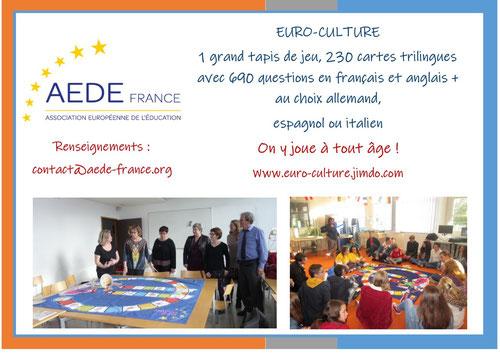 2019    Jeu euro-culture en 5 LANGUES